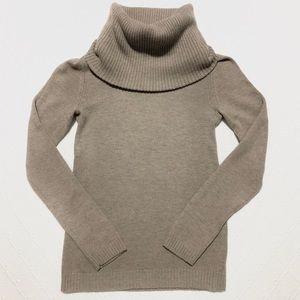 gap | cowlneck sweater.